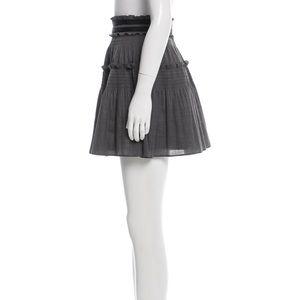 Diane von Furstenberg Pyrette Bis mini skirt